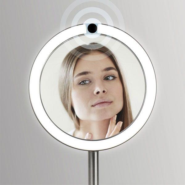Косметическое зеркало с увеличением и подсветкой  HoMedics Twist