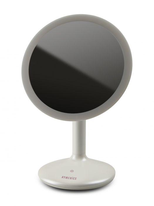 Косметическое зеркало сенсорное 5х увеличение с регулируемой подсветкой Touch&Glow HoMedics