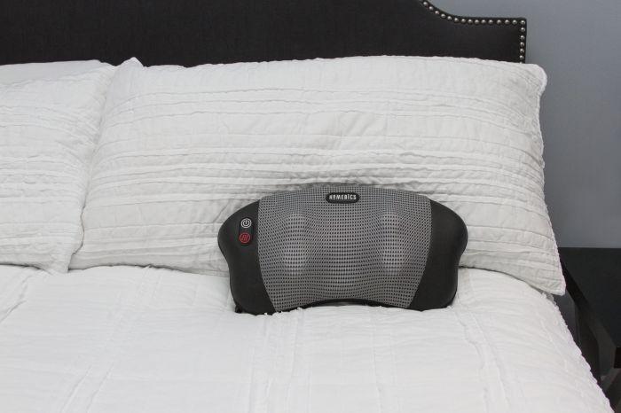 Массажная подушка Shiatsu с прогревом