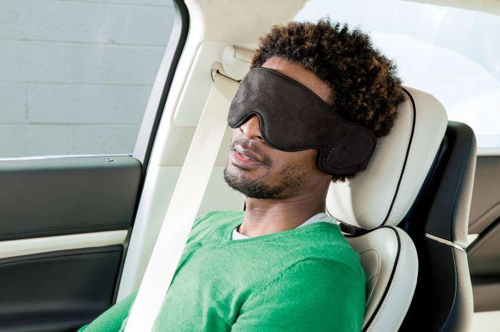 Вибрационная маска для глаз Travel
