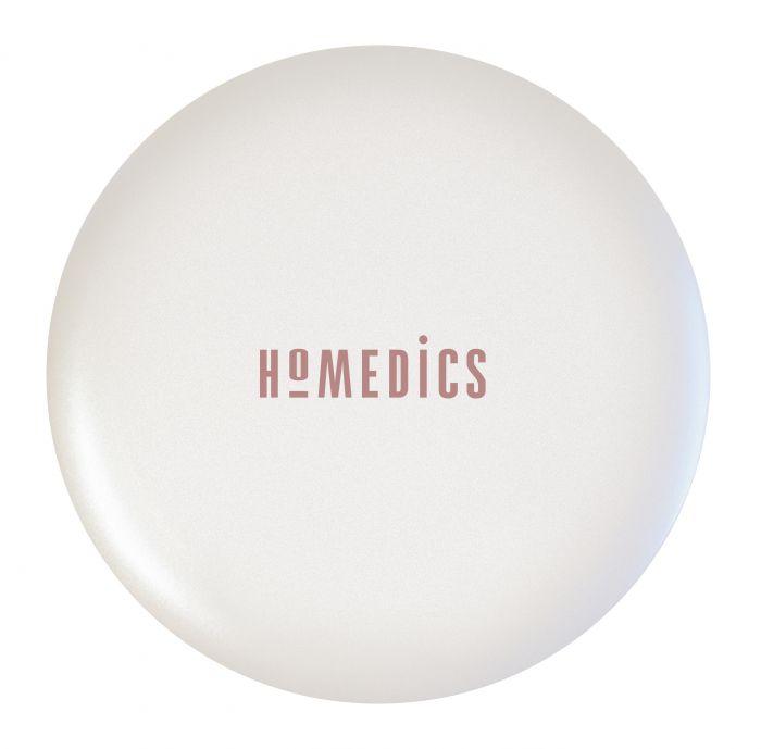 Компактное зеркало Pretty&Powerful 2х увеличение с подсветкой и функцией Powerbank HoMedics